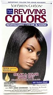 Dark & Lovely Reviving Colors #391 Radiant Black Semi-Perm (6 Pack)