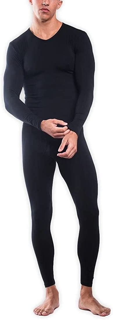 TaniUSA SilkCut Thermal Underwear Set for Men Color — Navy, Size — S