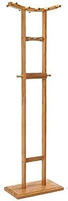 Amazon.com: TY BEI Coat Rack Wooden Coat Rack,Full-Length ...