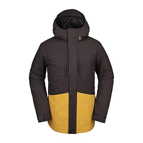 Volcom SLYLY Jacket Abrigo, Hombre, Vintage Black, M