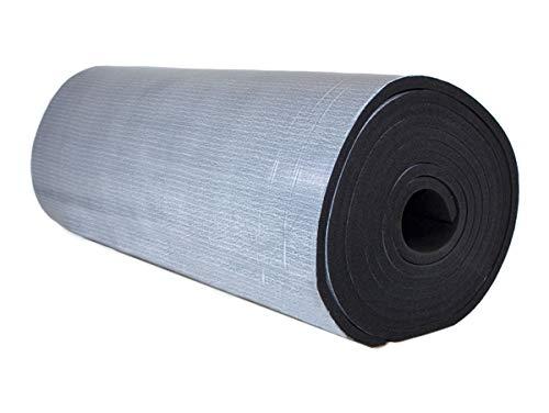 Dämmmatten Selbstklebende Kautschuk Isoliermatten 19mm Dämmung Isolierung 1m² - 8m² Markenqualität Insul-Roll XT (19mm - 1m²)