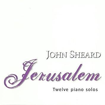 Jerusalem (Twelve piano solo)
