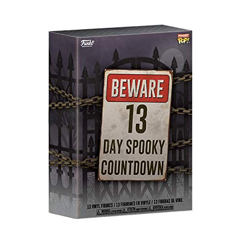 Funko- Advent Calendar: Pocket Pop: 13-Day Spooky Countdown Figura Coleccionable, Multicolor (48114)