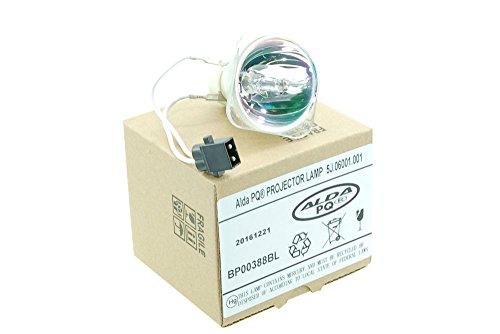 Alda PQ Premium, Beamerlampe / Ersatzlampe 5J.06001.001 / 5J.Y1E05.001 für BENQ MP612, MP612C, MP622, MP622C, MP24, MP623, MP624 Projektoren, nackte Birne, ohne Gehäuse