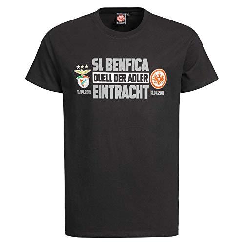 Eintracht Frankfurt vs. Benfica Lissabon Matchday T-Shirt Achtelfinale 2019 (S)