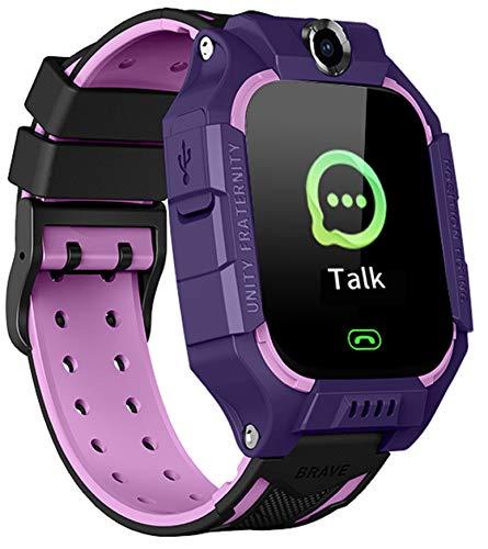 N3 ZELEK Reloj Inteligente para Niños Reloj de Pulsera Resistente al Agua Teléfono Inteligente Seguimiento de Niños Cámara Llamada de Emergencia Reloj Despertador Regalo Juguetes de Aprendizaje