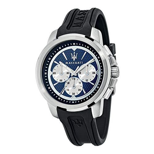 Orologio da uomo, Collezione SFIDA, in acciaio, silicone - R8851123002