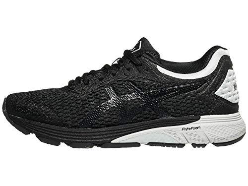ASICS Women's GT-4000 Running Shoes, 11, Black/Glacier Grey