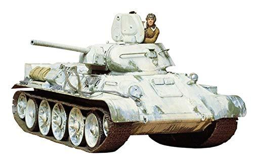 タミヤ 1/35 ミリタリーミニチュアシリーズ No.49 ソビエト軍 T34/76戦車 1942年型 プラモデル 35049