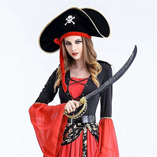 Pirate Hats Pirate of Caribbean Fancy Dress Party Hat World Book Day 6 Designs