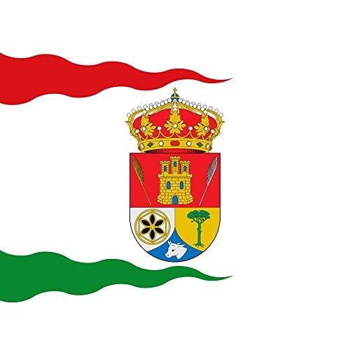magFlags Bandera Large Cuadrada de Color Blanco   1.35m²   120x120cm