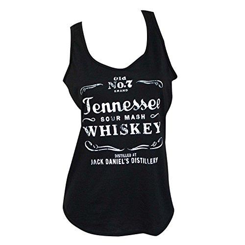 Jack Daniel's Damen Tank Top Tennessee Whiskey -  Schwarz -  Klein