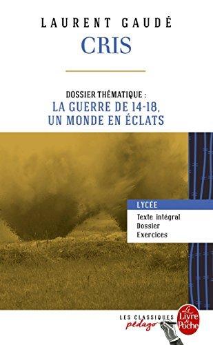 Cris (Edition pédagogique) by Laurent Gaudé (2015-08-26)