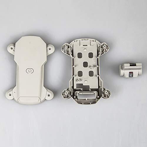 DishyKooker Gehäuse Abdeckung Gehäuse Canopy für Ersatzteile LS-M-I-N Mini Drohne RC Quadcopter Bianco