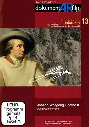 Johann Wolfgang Goethe II - Ausgewählte Werke, 1 DVD