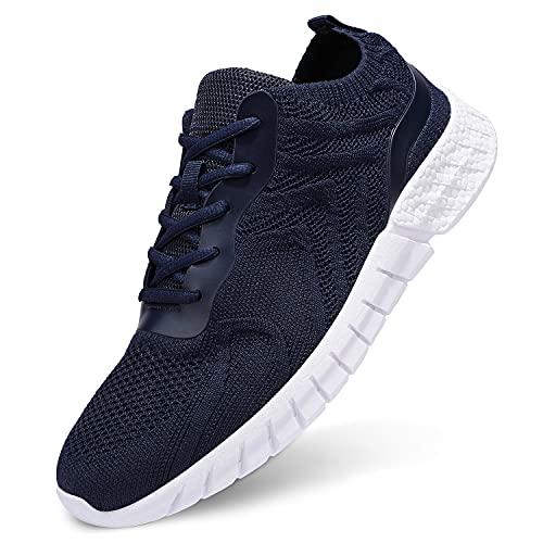 UUBARIS Zapatos ligeros para despertar para hombre, elegantes, atléticos, para correr, zapatos de tenis para el trabajo casual,...