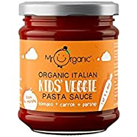 Mr Organic Salsa de Pasta Para Niños Tomate Sin Azúcar 200g
