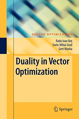 Duality in Vector Optimization