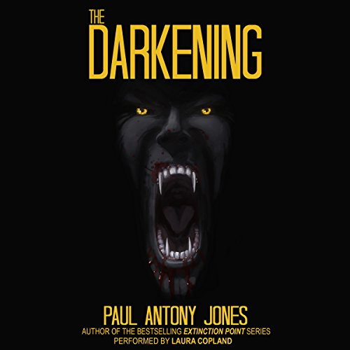 The Darkening audiobook cover art