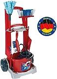 Theo Klein- Klein Cleaning Trolley Vileda Carro De Limpieza, Juguette,...