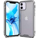 CoverON Slim Cover for Apple iPhone 12 Phone Case (5.4'), Crystal Lightweight Hard Back - TPU Clear Bumper