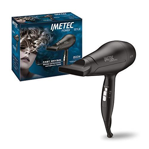 Imetec Power To Style S8 2100 Asciugacapelli, 2100 W, Extra Performance, con Beccuccio Direzionabile, Funzione Fast Drying per un Asciugatura Rapida, 3 Combinazioni Aria Temperatura