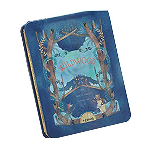 FairOnly blanco papieren notitieboekje met Iron Forest Series afdrukhoes