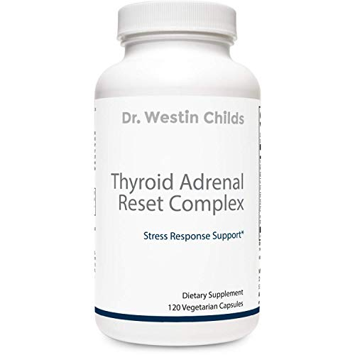 Dr. Westin Childs - Thyroid Adrenal Reset Complex | Combination Thyroid Support & Adrenal Support for Thyroid Patients - Non-GMO, GMP Certified, 60 Day Supply