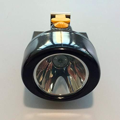 Linterna Frontal Lámpara de minero recargable led para la mina de carbón y faros exteriores 3 piezas/lote