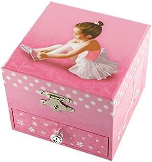 Caja de música para joyas / joyero musical de madera con cajon y bailarina bailadora (Ref: 22120) - Once upon a december - Anastasia (Newman / Flaherty)