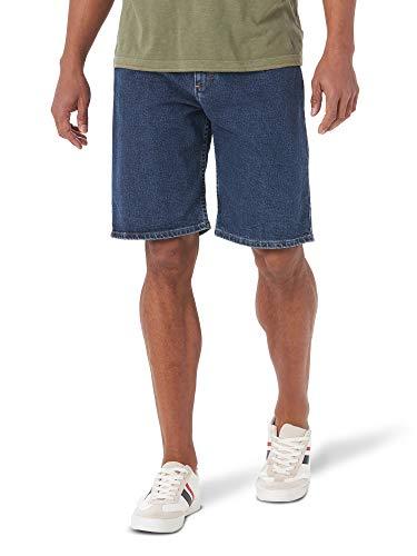Wrangler Authentics Authentics Men's Comfort Flex Denim Short, Dark Stonewash, 34