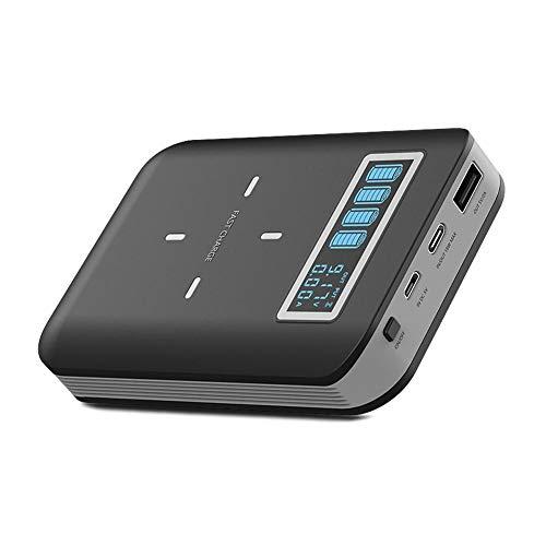 Caja de cargador inalámbrico portátil inteligente universal adaptador DIY USB caja de alimentación móvil con pantalla LED compatible teléfonos inteligentes, teléfonos Android