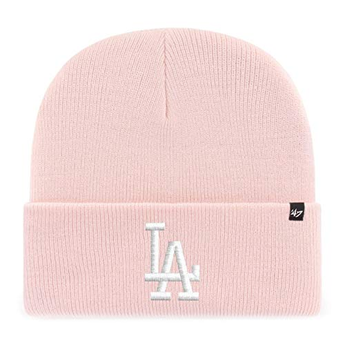 '47 Brand Knit Beanie - Haymaker Los Angeles Dodgers Rose