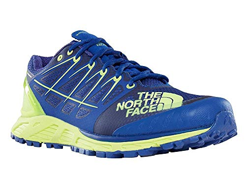 The North Face M Ultra Endurance II, Zapatillas de Deporte para Hombre, Azul (Bright Blue/Dayglo Yellow 4Cu), 39 EU