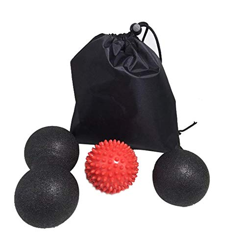 Great Features Of Peanut Massage Ball - Double Lacros se Massage Ball & Mobility Ball for Physical T...