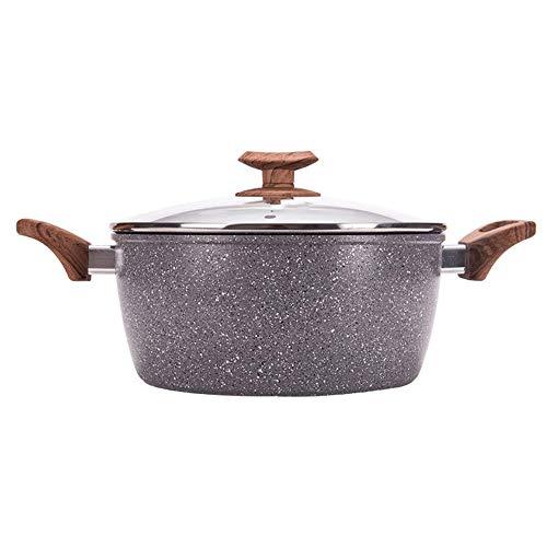Cooking Tools Olla Cazuelas Sopa Olla De Piedra Maifan Olla Biauricular Antiadherente Olla De Carne Hervida Adecuada para Estufa De Gas
