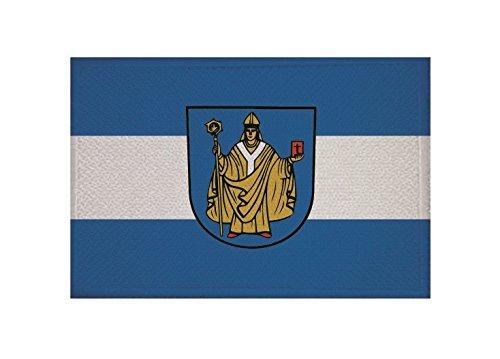 U24 Aufnäher Bad Salzungen Fahne Flagge Aufbügler Patch 9 x 6 cm