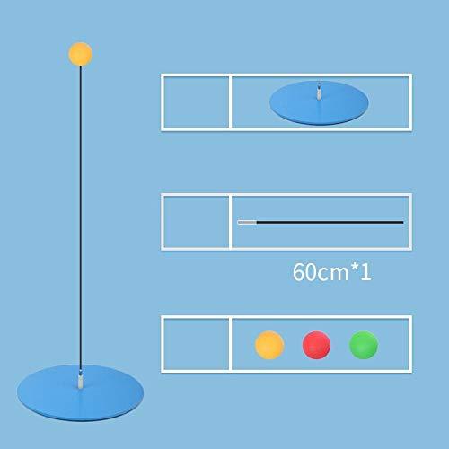 Sportausrüstung Tischtennispaddel Elastisches Tischtennis-Trainingsgerät mit flexiblem Schaft für Kinder-Vision-Trainingsschläger - Kindermodelle ohne Schläger