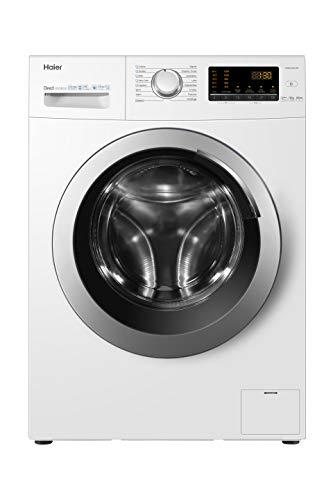 Haier HW80-SB1230, lavadora 8 kg A+++-40%, opción vapor, libre instalación,