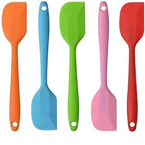 1 espátula, espátula de silicona de color dulce, levantador de alimentos antiadherente, utensilios de cocina para el hogar, utensilios de cocina, gadgets