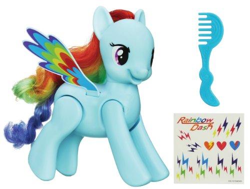 My Little Pony - A59051010 - Poupée - Rainbow Dash Saute Et Vole
