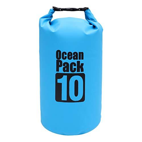 KESYOO Bolsa Seca Impermeable Bolsas de Rafting Mochila Flotante Bolsa de Cubo de Playa Bolsa de Almacenamiento Paquete de Deriva para Canotaje Camping Kayak Senderismo