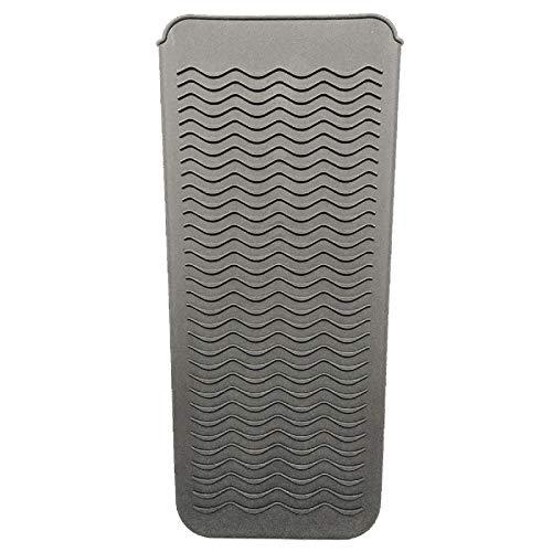 Leyeet Resistente al calor silicona Mat bolsa de pelo herramientas para rizadores plancha de pelo Plancha