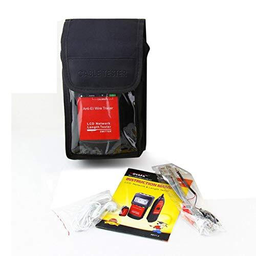 EmNarsissus Probador Especial de Red telefónica Duradero y práctico Buscador de línea Prueba de Punto de ruptura de Longitud Probador de línea de Red