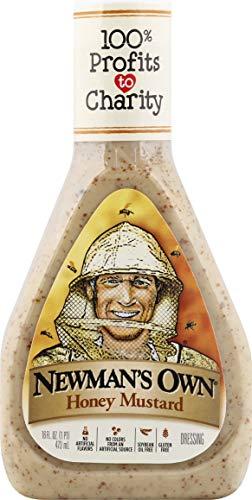 Newman's Own Honey Mustard Salad Dressing, 16 oz