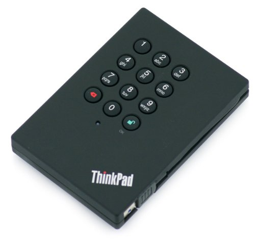 Price comparison product image Lenovo HDD / TP 500GBNew Retail,  0A65619New Retail USB 3.0 Secure Drive)