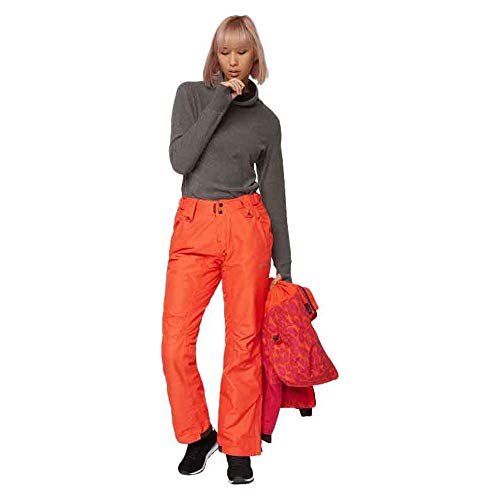 Bench Damen Democrat Skihose, Dark Orange Marl, M