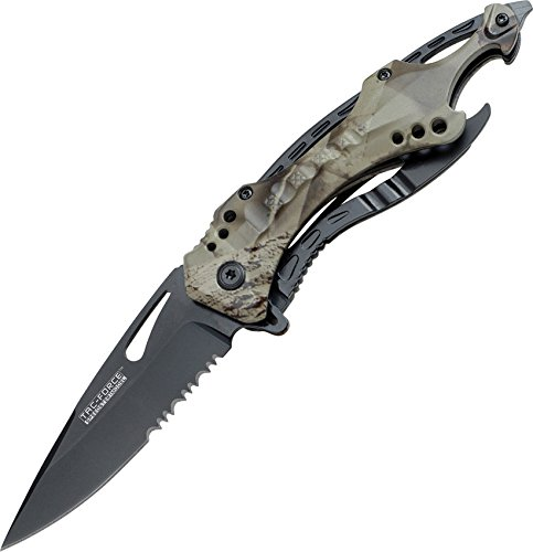 TAC Force TF-705GC Tactical Spring Assisted Knife 4.5' Closed