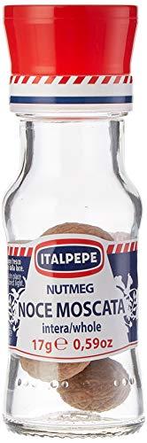 Italpepe - Noce Moscata, Intera - 6 pezzi da 17 g [102 g]