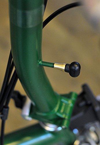 ACE+ Adaptador de posición de palanca de freno para BROMPTON Bicicleta, color dorado